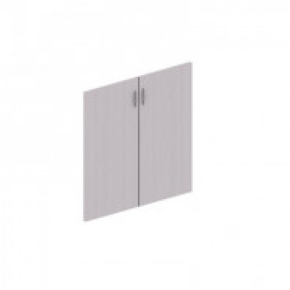 Мебель ED Форум/Статус Двери ЛДСП (2шт) низк.Фр-8.0 дуб