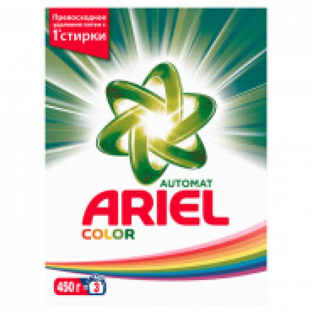 Порошок стиральный Ariel Color автомат 450гр д/цветного белья