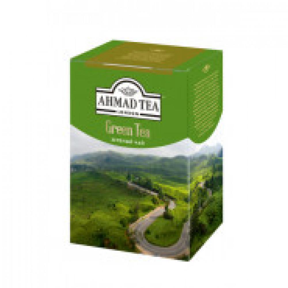 Чай Ahmad Green Tea,лист,зелен.200г.картон/кор 1310-1
