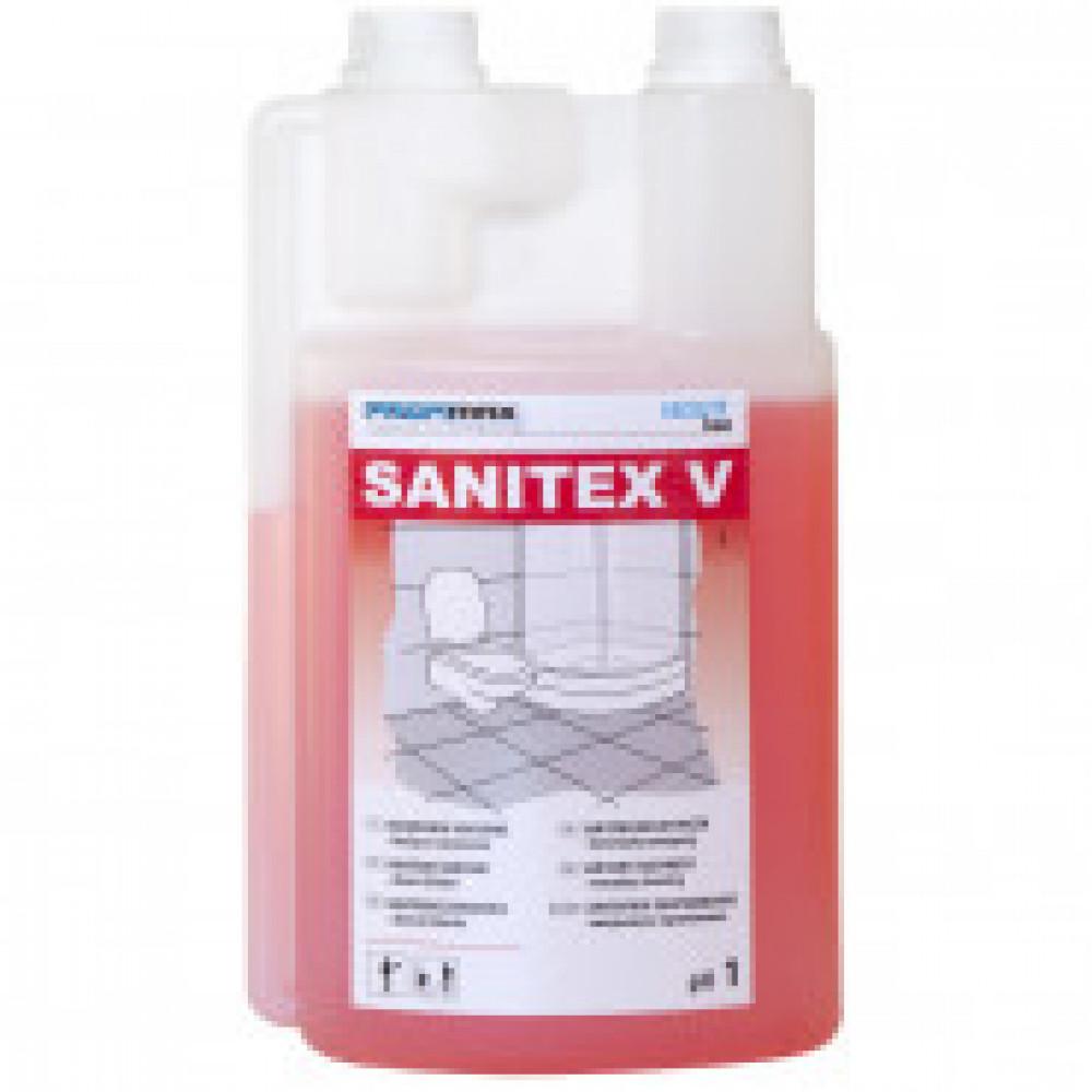 Профессиональная химия Lakma Sanitex V 1л, д/ежедневной чисткисантехники