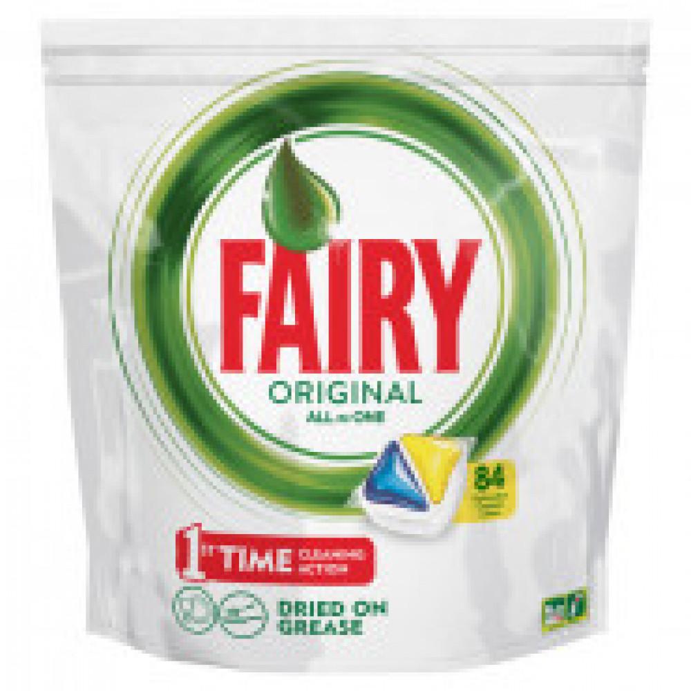 Капсулы д/посудомоечных машин Fairy Original All in 1 Лимон 84шт/уп