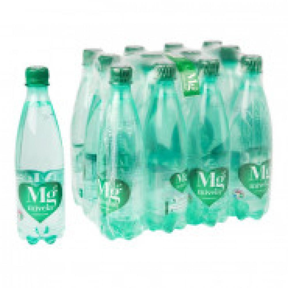 Вода минеральная Mivela Mg++ газированная 0.5 л (12 штук в упаковке)