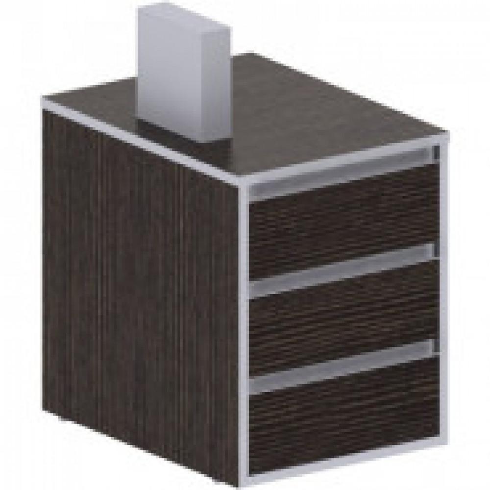 Мебель ED_Vita Тумба прист. V-3.1, центр.замок т. сосна лоредо