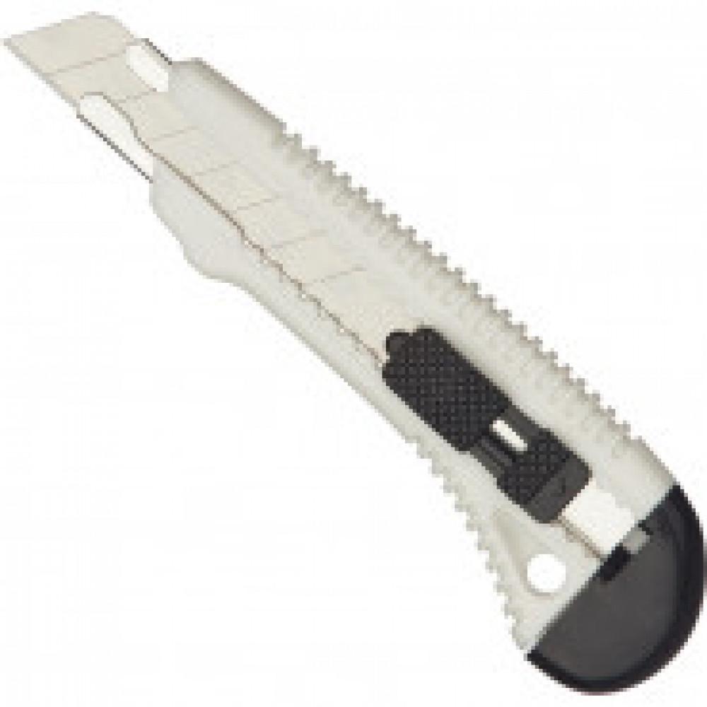 Нож канцелярский 18 мм Bantex с фиксатором, цв.в ассортим.