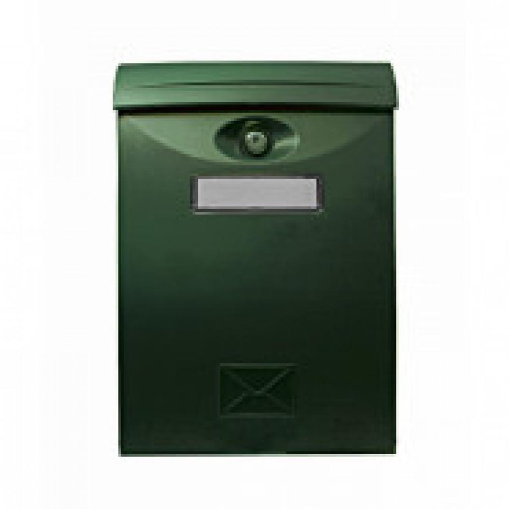 Ящик почтовый SHUH RU LTP-01 (зелен.) пластик.почтов.ящик,240х105х345