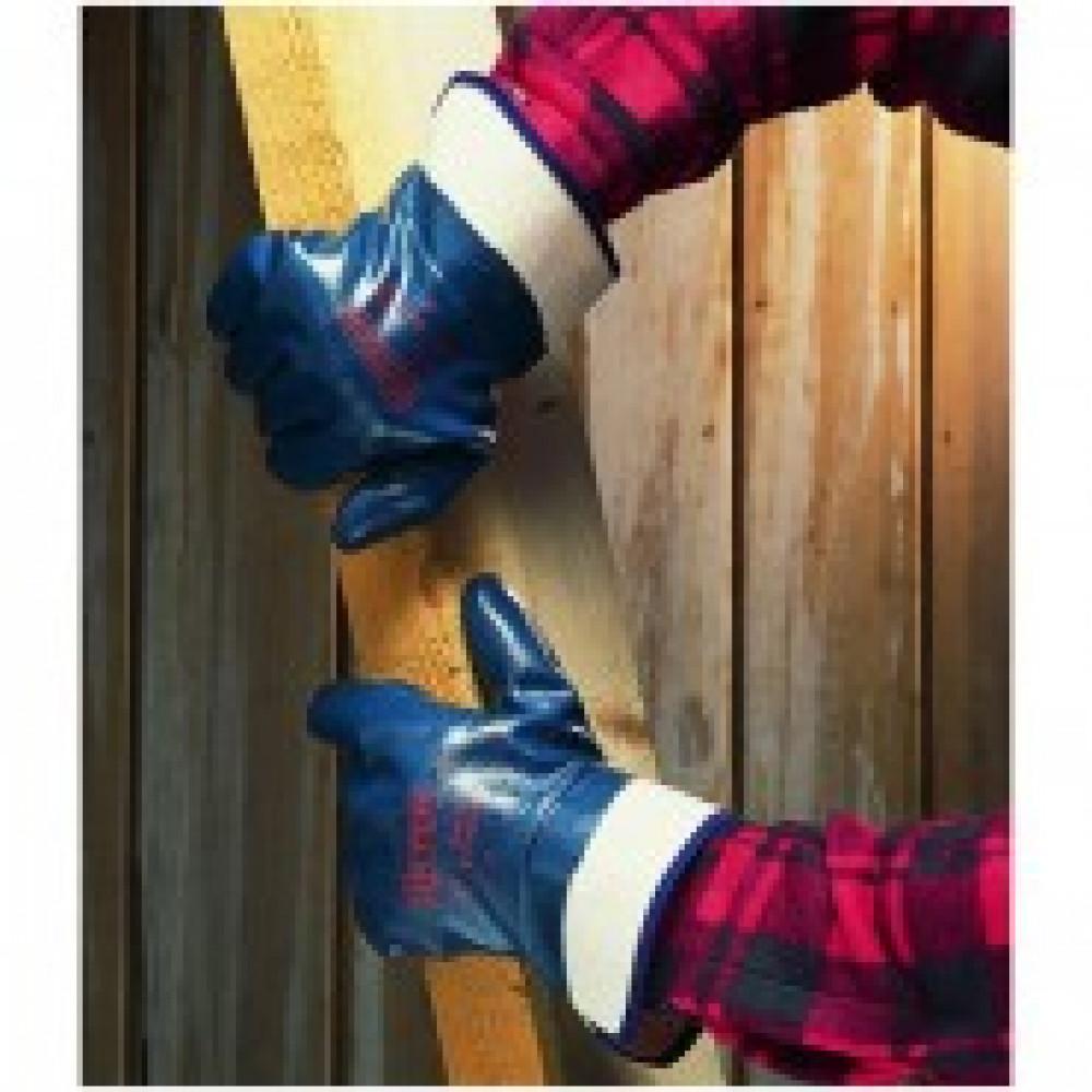 Перчатки защитные Ansell ХАЙКРОН полное нитриловое покр крага (27-805)р.10