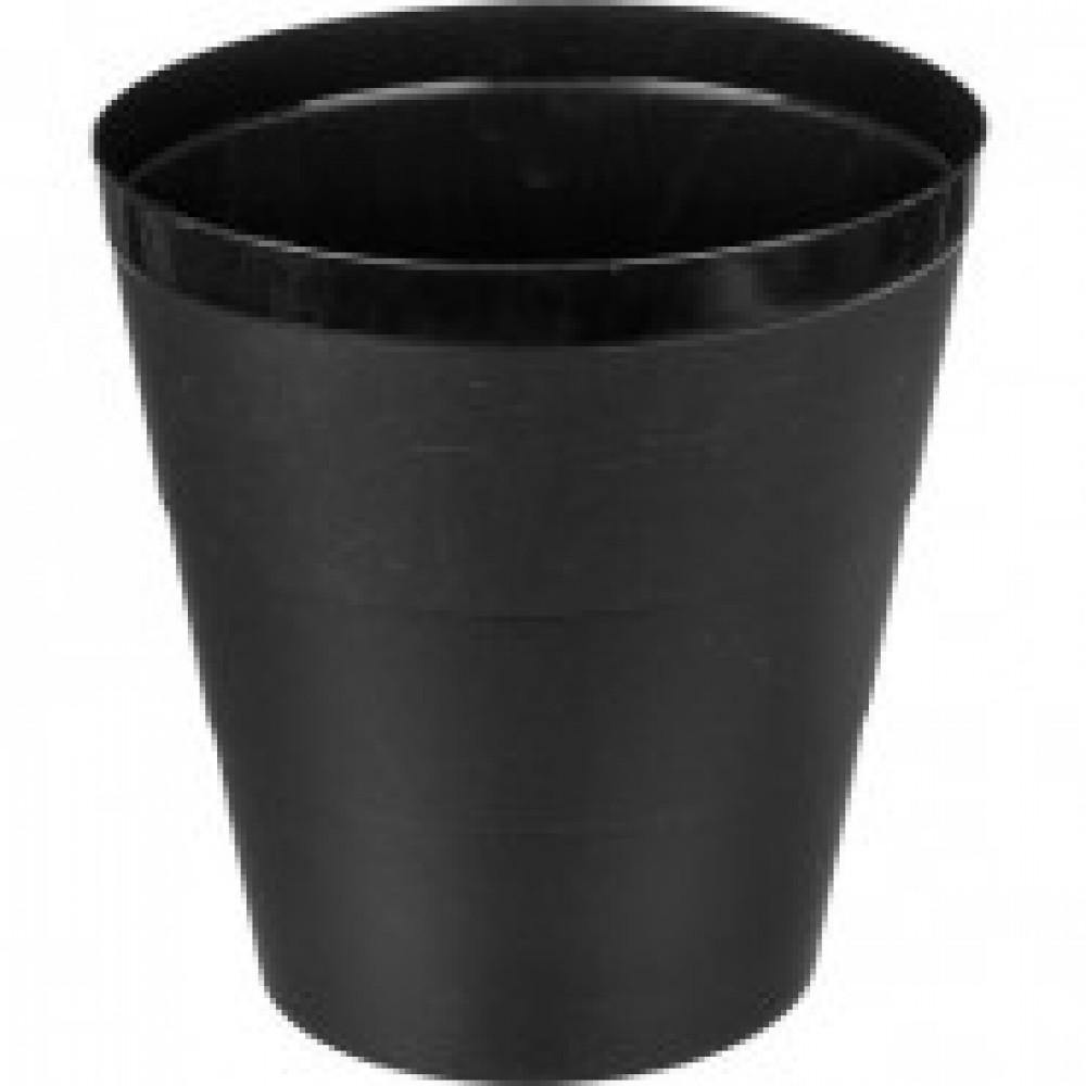 Корзина для бумаг, 14 л, черная
