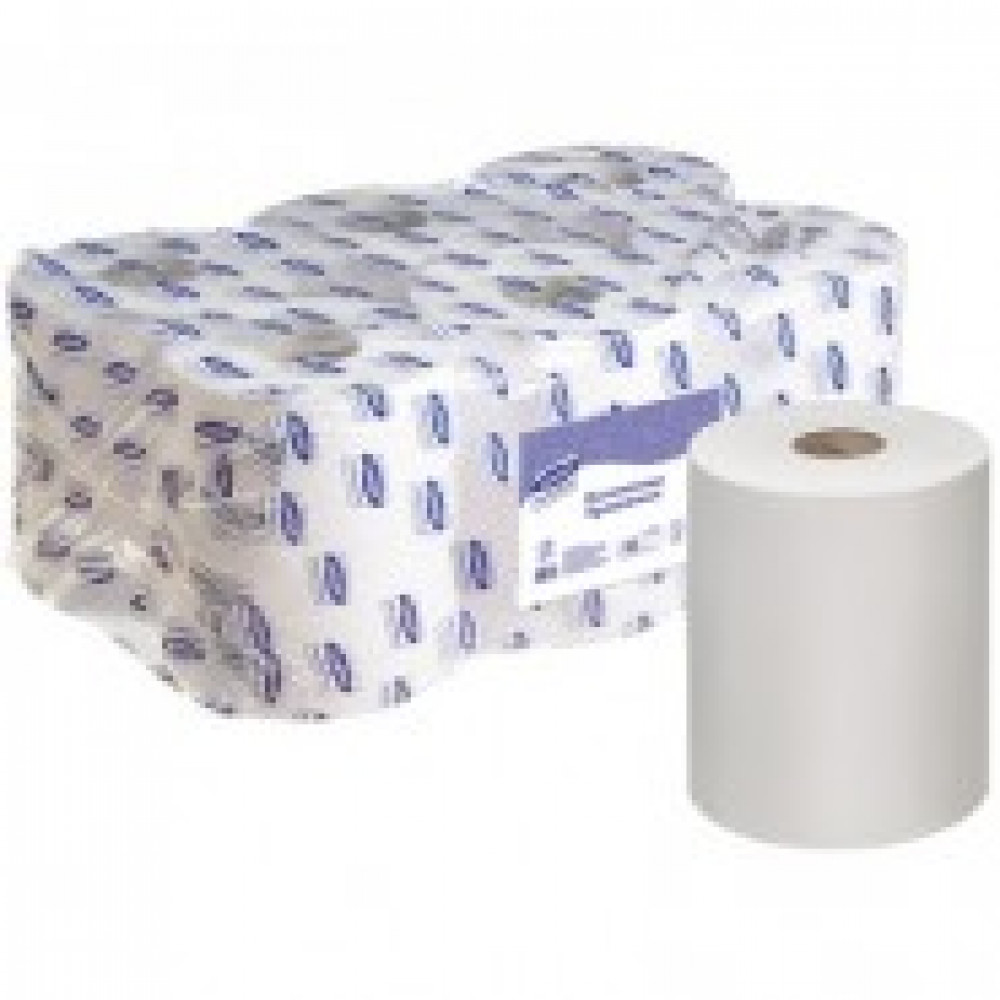 Полотенца бумажные д/держ. Luscan Professional 1сл. 6рул./уп. 300м с перфор