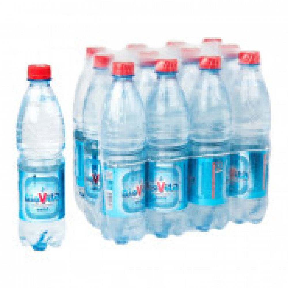 Вода минеральная BioVita негазированная 0.6 л (12 штук в упаковке)