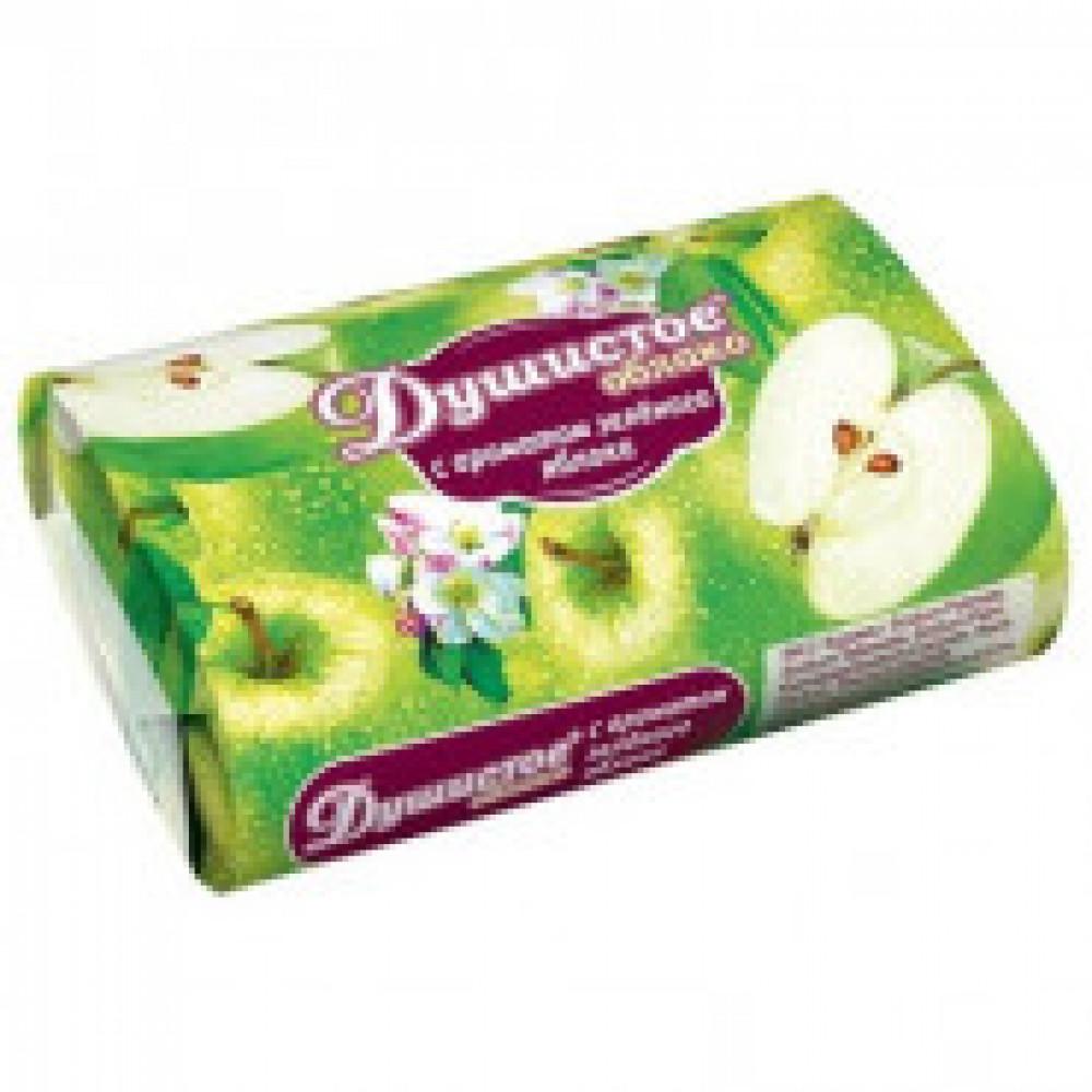 Мыло туалетное Душистое облако с ароматом зеленого яблока 90г