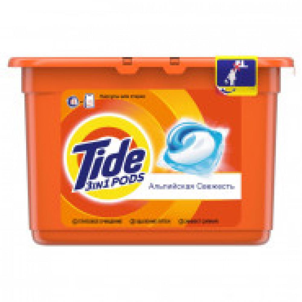 Капсулы для стирки Tide автомат д/белого и цветного белья 15кап/уп
