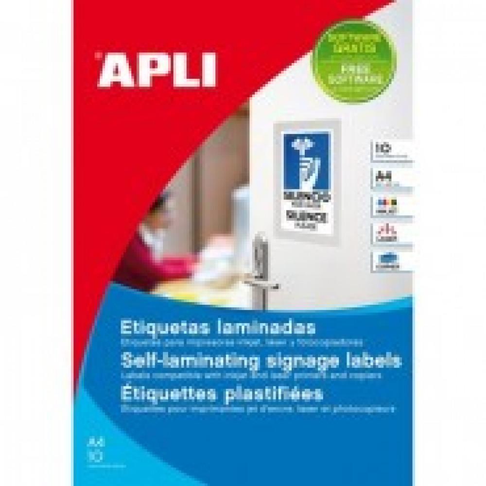 Этикетки самоклеящиеся APLI А4,150х100мм,10л/уп