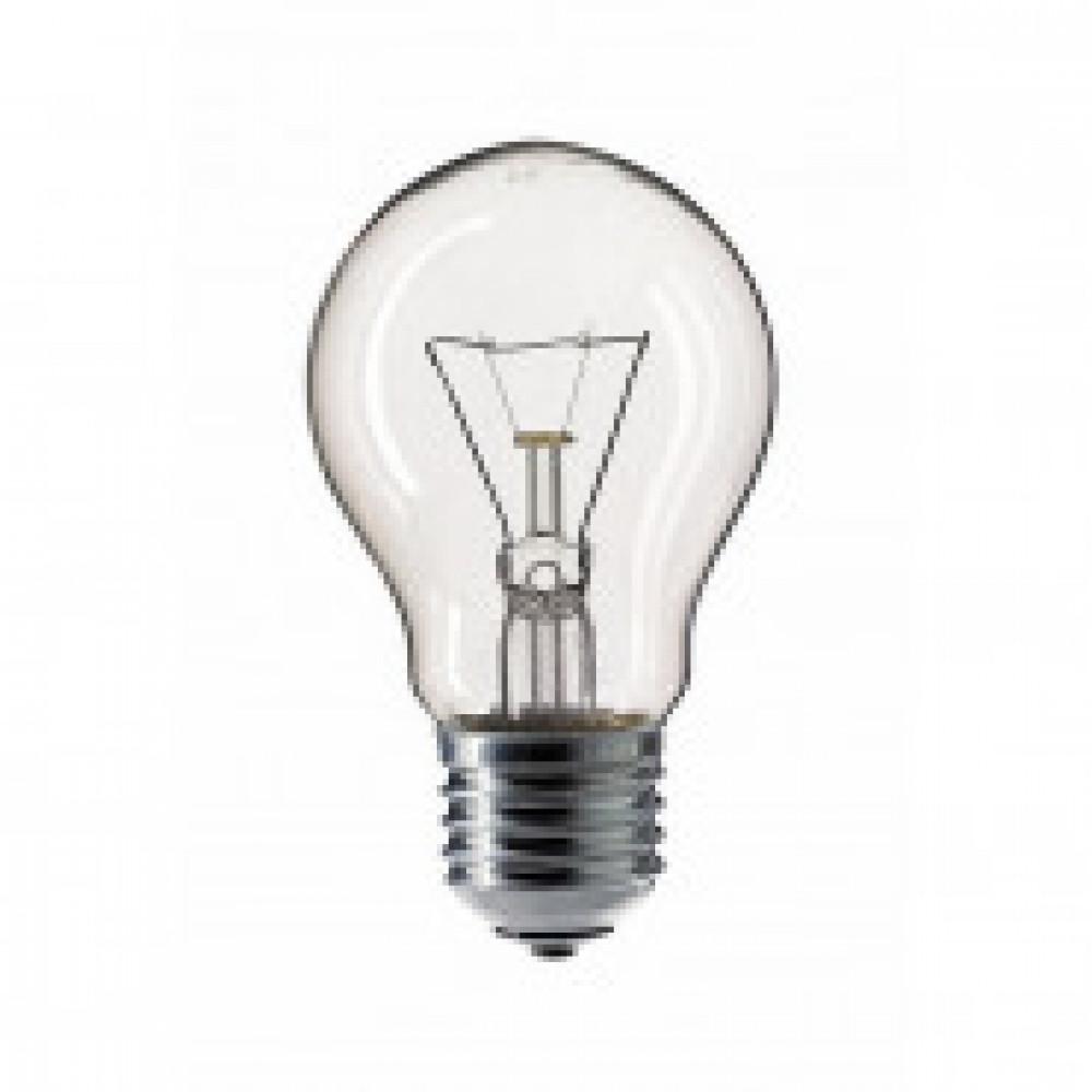 Лампа накаливания PILA 75W 230V E27 Груша прозрачная 10шт. в уп.
