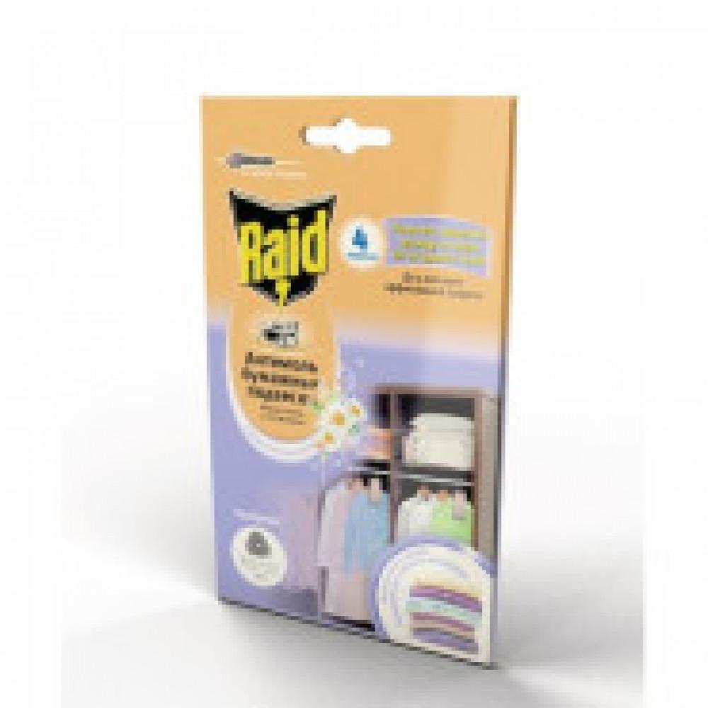 Средства от насекомых RAID Бумажные подвески с ароматом Весенних Цветов 4 ш