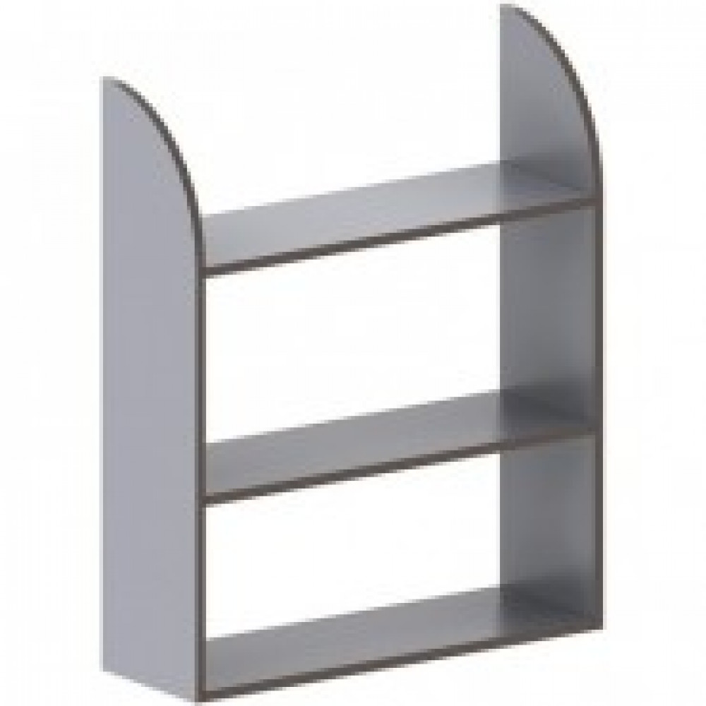 Мебель MS_Агат Полка АСС-46 серый