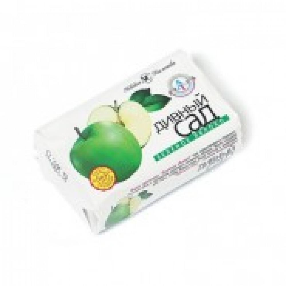 Мыло туалетное 90г ДИВНЫЙ САД Зеленое яблоко