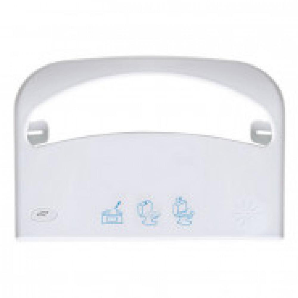 Диспенсер для покрытий на унитаз Luscan Professional new белый R-1308W