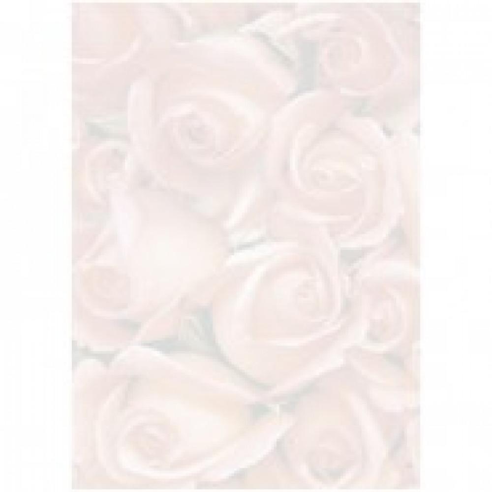 Бумага с готовым изображением TSC6690 Дизайн-бумага Ковер из роз (А4,90г,уп
