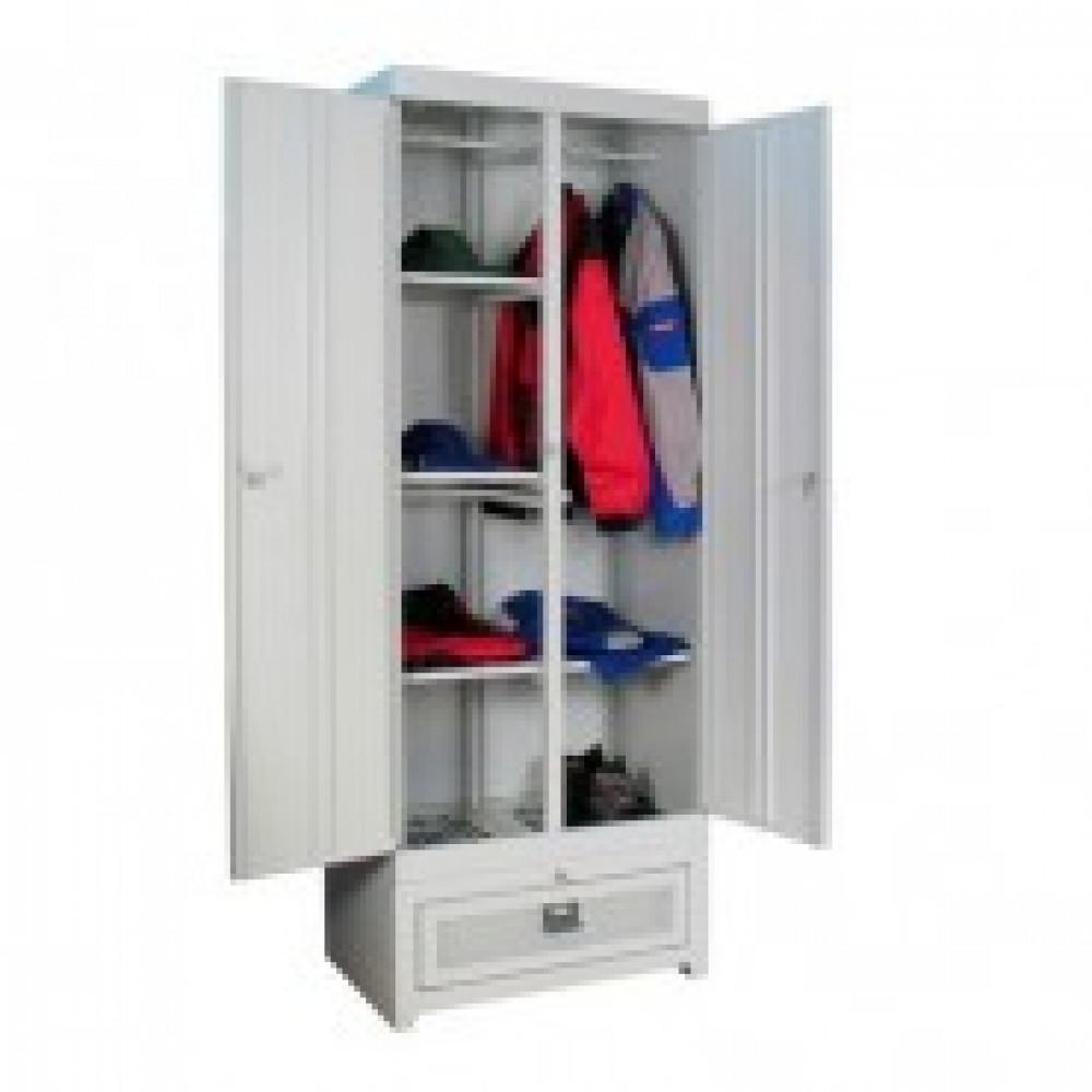 Метал.Мебель K_ШСО-22м-600 Шкаф сушильн 2 секции, 650х512х2065