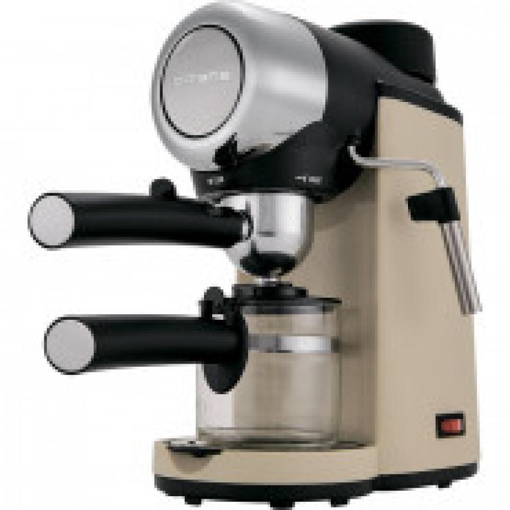 Кофеварка Polaris PCM 4005A, 800 Вт, сталь, коричневый