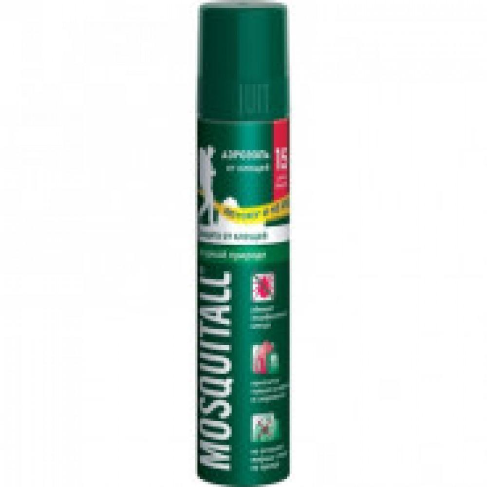 Средства от насекомых Mosquitall Защита от клещей аэрозоль 150мл