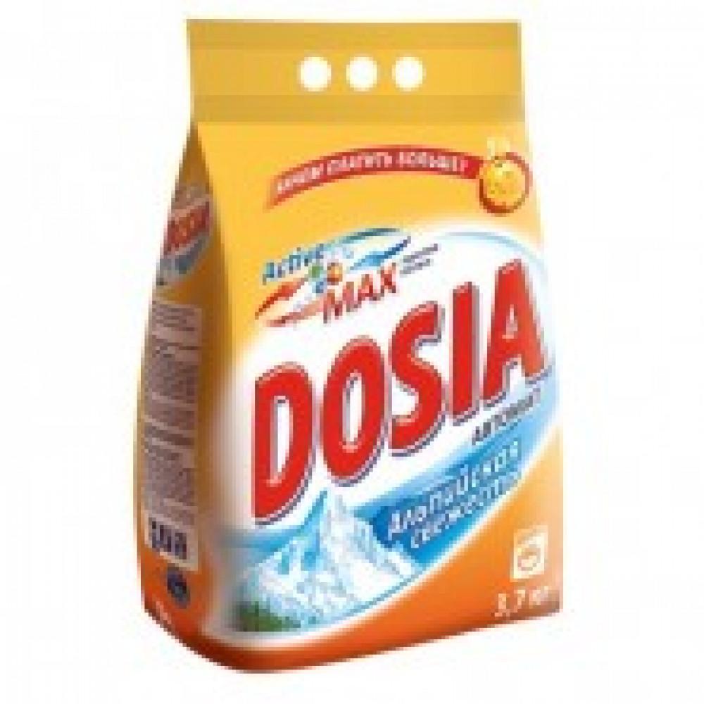 Порошок стиральный DOSIA автомат Альпийская свежесть 3.7кг