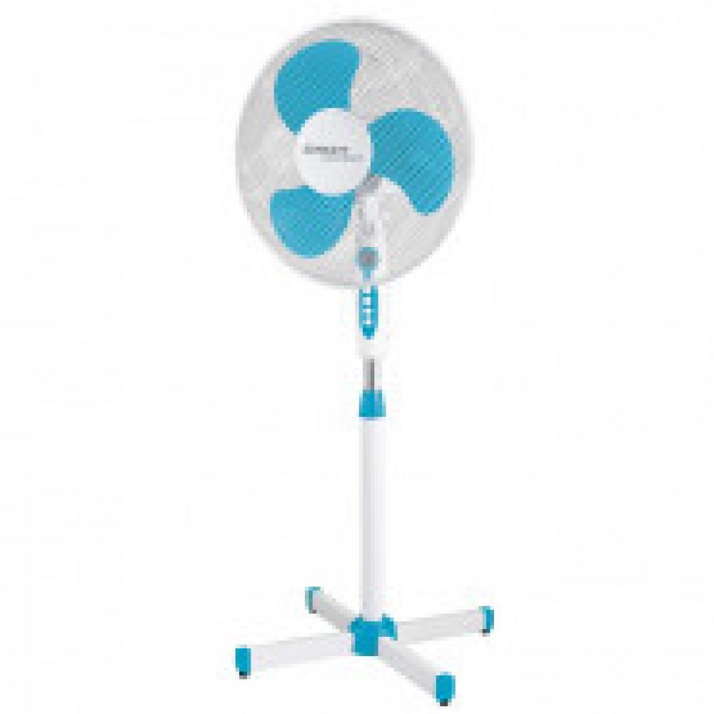 Вентилятор напольный Scarlett SC-SF111B12,38Вт,40см,подсвет,цв.бел сбирюз