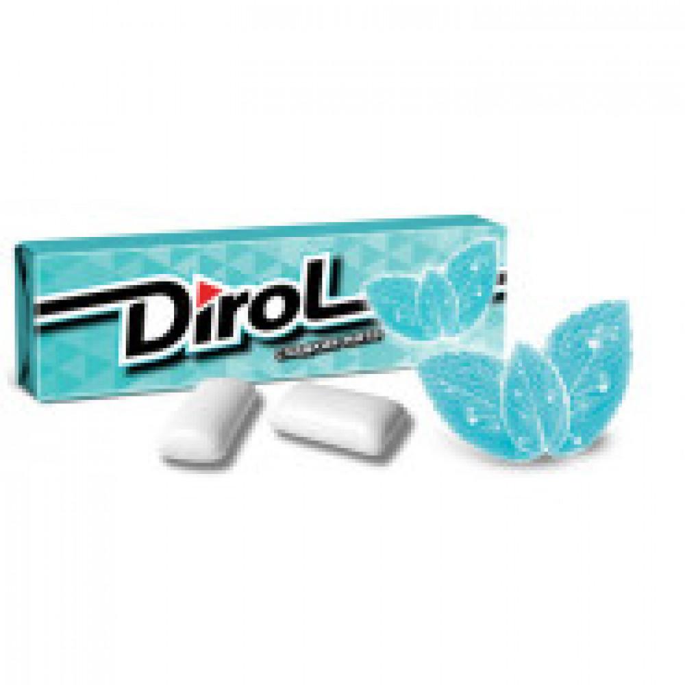 Жевательная резинка DIROL Сладкая мята 13,6г