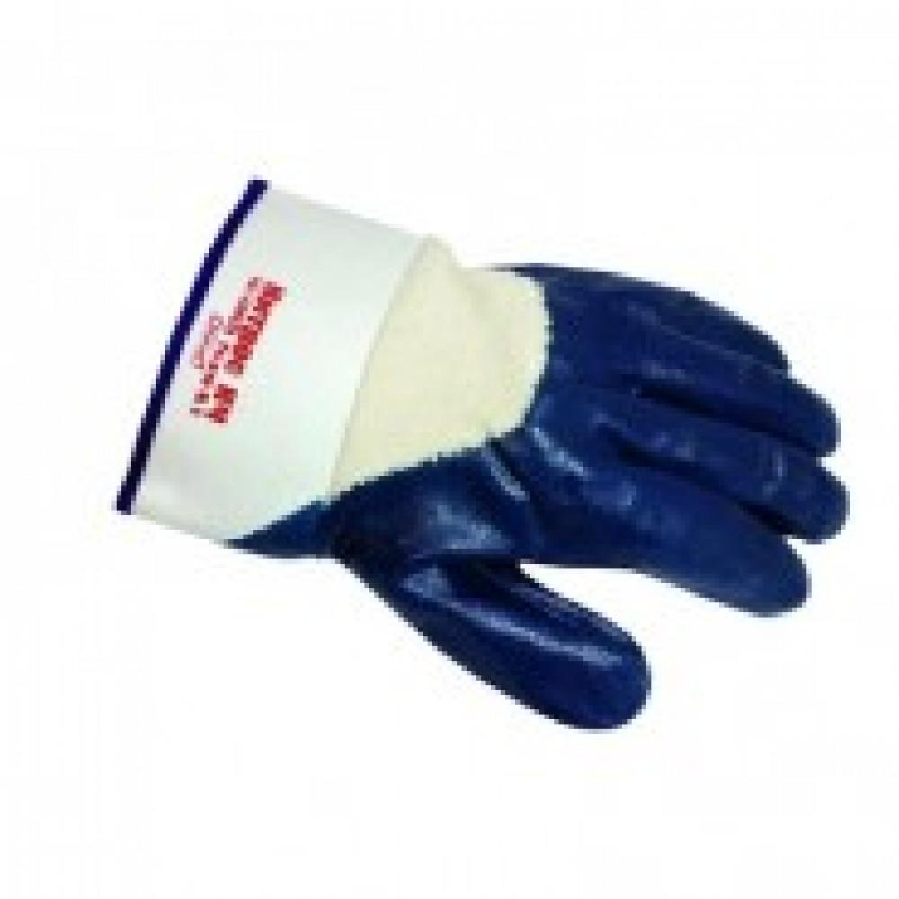 Перчатки защитные Ампаро Нитрос неполное нитриловое покр крага (448575)р.11