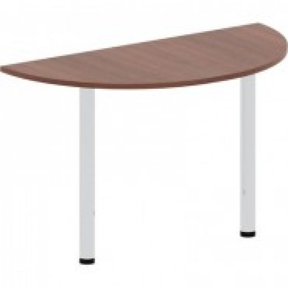 Мебель IN Рондо Стол окончание 2 опор СО11н2 (2) 66орех 120